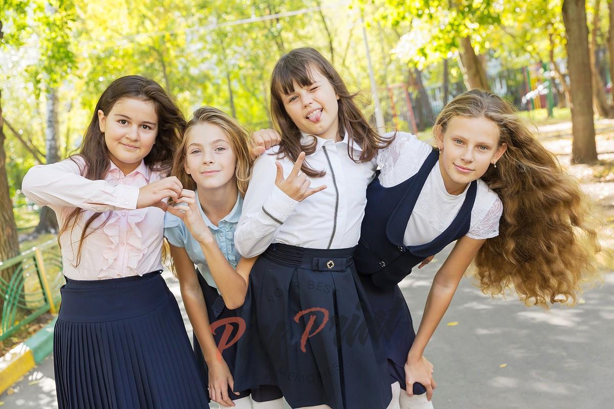 Фотосъемка в 4 классе для выпускного альбома