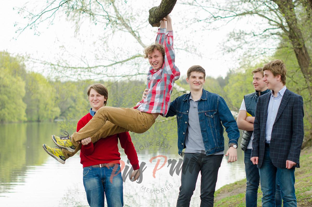 Фотосъемка выпускников в парке