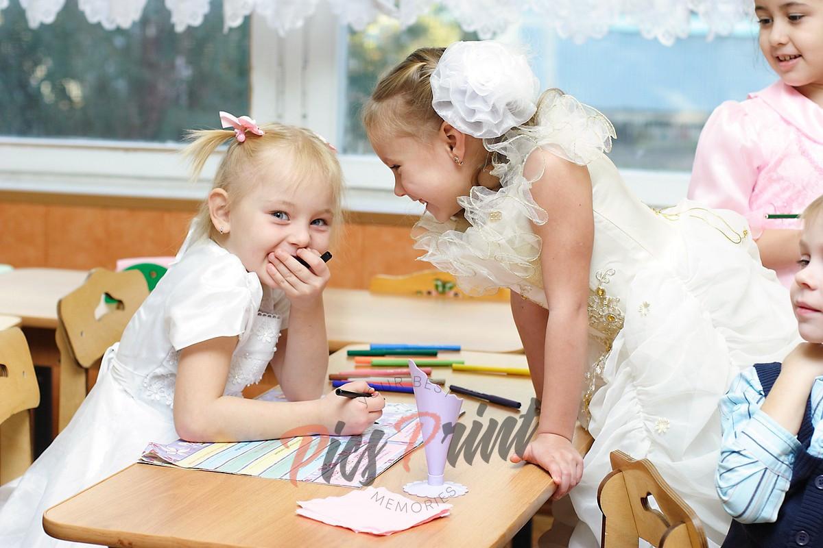 Фотосессия в детском саду для фотоальбома