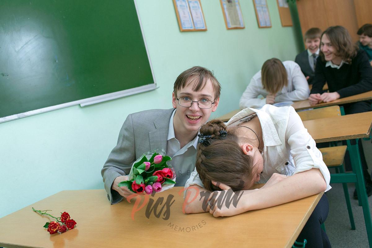 Постановочная фотосессия в классе