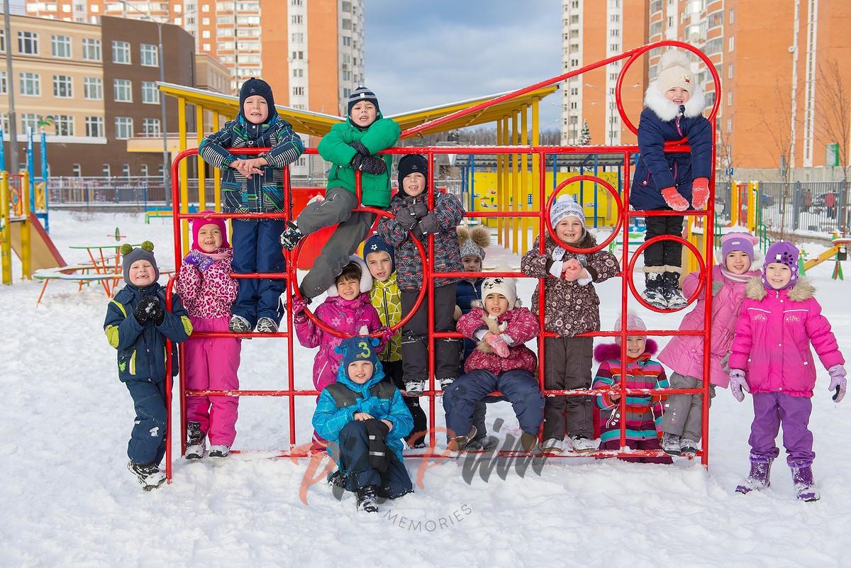 Постановочная фотосъемка в детском саду